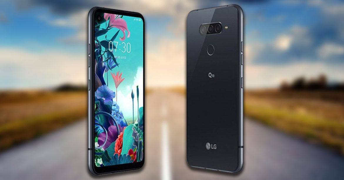 LG Unveils LG Q70 with With Hole-Punch Display revealed