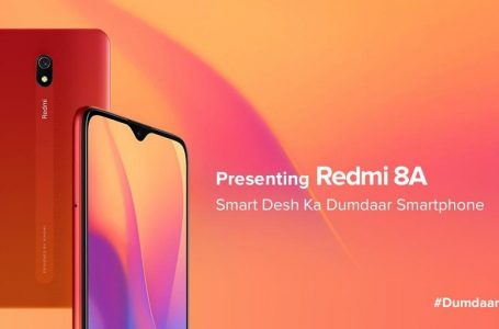 Xiaomi Redmi 8A Launched in India