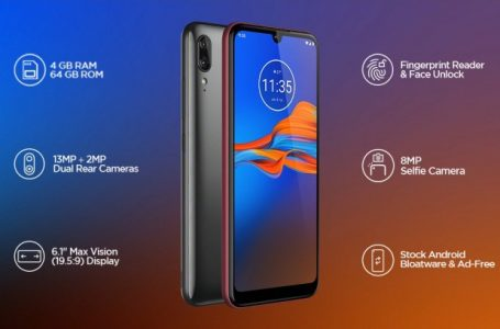 Motorola Moto E6s Launched in India For Just Rs. 7999