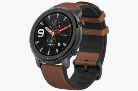 Huami Amazfit GTR Smartwatch With Optical Heart Rate Sensor Launched