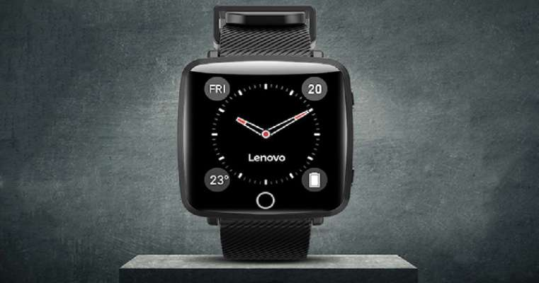 Lenovo Carme Smartwatch With Heart Rate Monitor Launched
