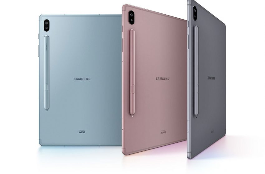 Samsung Galaxy Tab S6 Launched in India