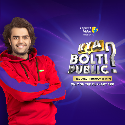 Flipkart launches 'Kya Bolti Public', an interactive game show with TV Anchor Maniesh Paul