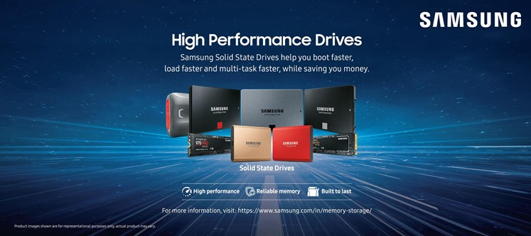 Samsung Announces Exciting Festive Offers on its Range of Storage Devices
